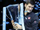 NOVAK Djokovic has denied world No.1 Rafael Nadal the one trophy he has never claimed, beating the Spaniard 6-3 6-4 in the final of the ATP World Tour Finals.