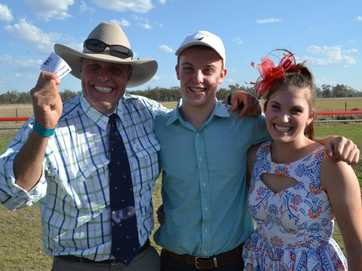 Visitors and locals caught out and about by the Chinchilla News at the Chinchilla races on Saturday.