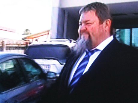 Tony Jardine leaves Maroochydore courthouse.