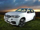 SOMEHOW, staring Mordor in the eye was serene. That was because the plush outlook was from the new BMW X5.