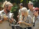The celebrities came out for Steve Irwin Day at Australia Zoo.