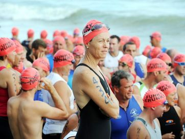 2013's Hervey Bay One Hundred Triathlon has been haled a huge success for the competitors and the economy of the region.