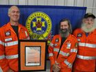 The SES unit has been recognised with the Queensland SES Operational Response of the Year award in Brisbane.