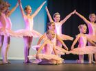 WHILE the audience gazed in wonder, Wendy Barker Dance Studio students danced joyfully across the stage at their performance of Curtain Up.