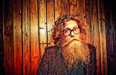 Canadian Ben Caplan has a big stage presence.