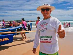 Chisel Filipeck competed in the first Craft Carnival 40 years ago and was on hand to give the latest event the thumbs up. Photo: Rob Wright / The Coffs Coast Advocate