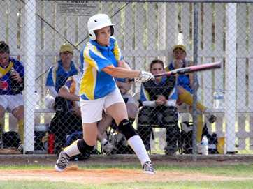 A selection of photos taken at the softball held at Frank Coulthard Oval during the weekend.