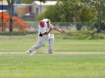 Reserve cricket game between Yaralla and Brothers at Yaralla Sports Field on November 23, 2013.