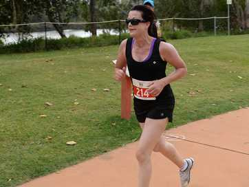 Rockhampton Road Runners Moverber fun run.