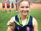 THE sky's the limit for Fernvale athlete Rochelle Vidler after she set a national championship record in discus at the Australian primary school titles.