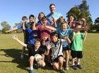 DURING his visit to Yamba this week, Gold Coast Titan Luke Douglas revealed he visited his brother, Wallaby international Kane Douglas, in Dublin.