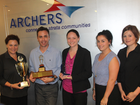 ARCHERS Body Corporate Management has capped off 2013 in style, claiming a number of awards at the group's annual strategy training day and awards ceremony.