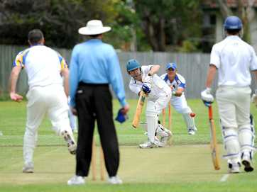 Cricket - Sawtell vs Bellinger / Dorrigo at Richardson Oval.