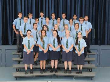 Hervey Bay's Year 12 graduating classes of 2013.