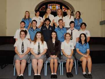 Maryborough's Year 12 graduating classes of 2013.