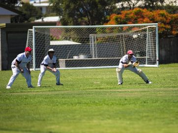 Gracemere defeated Yaralla in a Capricornia Club Challenge cricket match at the Yaralla Sporting Fields on December 1, 2013.