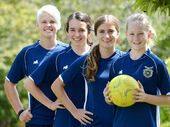 WEST Moreton Anglican College's female football stars have enjoyed an outstanding year with several players being awarded elite representative honours in 2013.