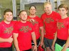 A GROUP of Warwick teenagers has joined with WIRAC personal trainer and power lifting champion Ben Bouchereau to form the Warwick Powerlifting Club.