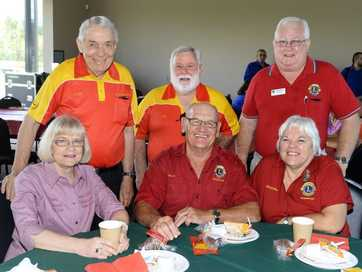 Volunteers enjoy all the fun of the International Volunteers Day breakfast held at the North Ipswich Reserve Corporate Centre on Tuesday.