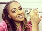 THE show must go on. That's the approach Jessica Mauboy took in Rockhampton last week when she sprained her finger on stage.