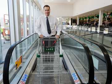 A refurbished Woolworths Maryborough reopens on Wednesday after the store was inundated in the January floods.