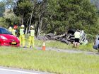ALL lanes on the Pacific Highway have re-opened after this morning's truck crash near Mooball.