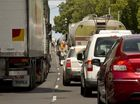 TOOWOOMBA'S bitumen arteries will remain clogged until at least the end of the week as an extra highway of traffic filters through the city.