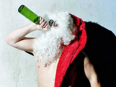 A VERY MERRY CHRISTMAS: Just let yourself go at the workplace party.