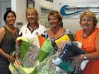 The Zonta and friends knitting group presented six blankets to the Women's Refuge Crisis Accommodation help women suffering from domestic violence.