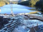 CLARRIE Hall Dam's widening and extension work is progressing to schedule and should be completed mid-2014.
