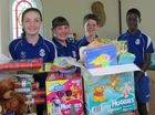 This Christmas St Anthony's Catholic School community is delivering presents cross-country.