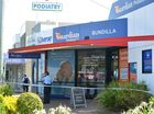 Police have arrested a man who allegedly held up a pharmacy at knifepoint this afternoon.