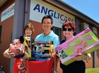 DESPITE having difficulties adopting out families this year, Anglicare has received its  first hamper for The Observer's Adopt-A-Family Christmas Appeal.