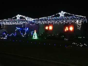 A look at a few Tweed homes that have thrown their lights up for Christmas.