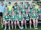 The Emerald Tigers Ladies in action against the Yeppoon Seagulls earlier this year.