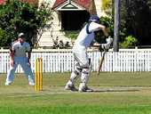 ROCK SOLID: Michael Bourke scored 97 for Maryvale earlier in the season against Wheatvale.