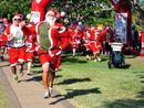 A selection of photos taken at the Variety Santa Fun Run which started from Alexandra Park.