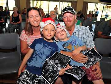 A selection of photos taken at the Moore Park Beach Christmas carols event.
