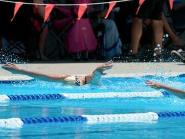 North Coast Swimming Championships at Coffs harbour War Memorial Pool.