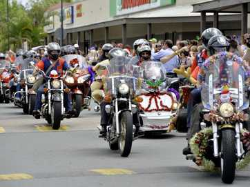 The seventeenth running of the Lockyer Ulysses Club toy run.