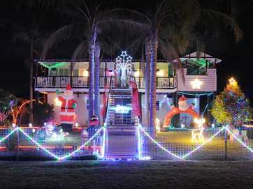 These homes have entered the annual Light the Night competition, showing off Christmas Lights across the Fraser Coast. You can vote for your favourite in our poll.