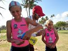 MORE than a hundred lifesavers in the making converged on Nielson Park Beach at Bargara for the weekend's Junior 4-Point Carnival.