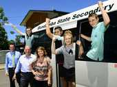 A NEW school bus has allowed students at Bundamba Secondary College to make the most of the schooling and take part in extra curricular activities.