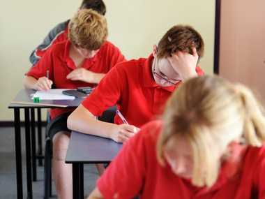 Year 7 students will enjoy the use of a new building at Urangan High when they join the school in 2015.