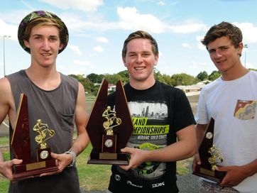 All the winners from the Toowoomba BMX Club's annual trophy presentation day.