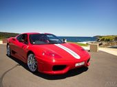FOR this week's blog, I am writing about this beautiful 2004 Ferrari 360 Challenge Stradale photographed at La Perouse, with Bare Island in the background.