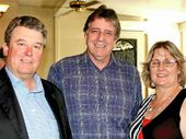 BE ALERT: Gympie Rural QDO state chairman Brian Tessman (left), speaker Lex Peterson and Kenilworth dairyfarmer and QDO state councillor Elke Watson.