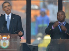 YOUTUBE comedy site This is Genius has created a spoof translation of the sign language used at the Nelson Mandela memorial by a fake interpreter.