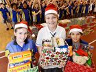 BREMER High students have shown their Christmas spirit with a significant contribution to the QT's Adopt-a-Family Appeal.