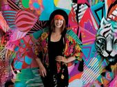 SHE has exhibited with Banksy in London and now Byron Bay can see the work of Sydney artist Shannon Crees in an exhibition opening today.